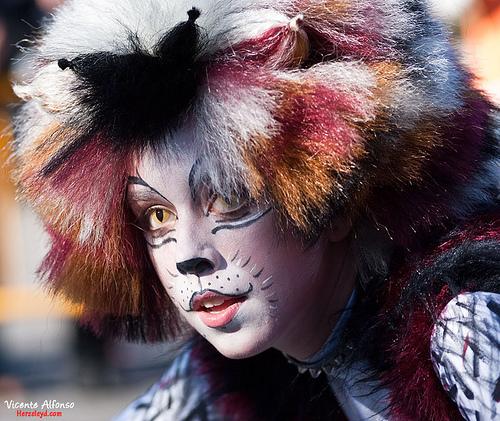 Hacer fotos en Carnaval