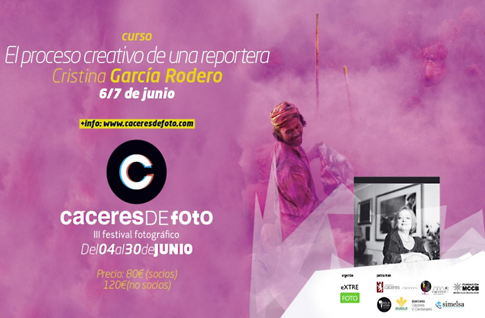 Curso «EL PROCESO CREATIVO DE UNA REPORTERA» – CRISTINA GARCÍA RODERO