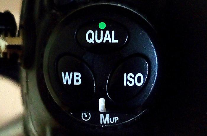 Opción «Mup» de Nikon